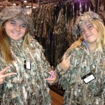 My daughters, Haley and Marcella, on their visit to Dallas and Bass Pro in November 2012