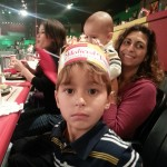 James' on his 5th birthday at Medieval Times in Dallas